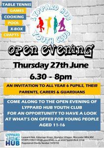 youth club invite