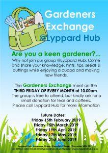 gardeners - exchange poster 2019